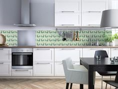 Backsplash PEACOCK