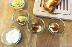 Kochen mit Brot - Teil 5: Brioche-Apfel Dessert | Brot und Gebäck aus Österreich - Haubis Pudding, Desserts, Food, Brioche, Apple, Kochen, Food Food, Recipes, Tailgate Desserts