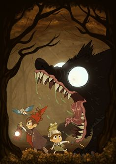 THE DOG?! THAT IS NOT THE BEAST! Over The Garden Wall