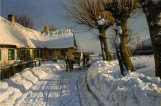 Peder Mork Mønsted.Петер Мёрк Мёнстед (10 декабря 1859, Balle Mølle близ Грены - 20 июня 1941, Фреденсборг) - известный датский художник-реалист, признанный мастер пейзажа, представитель «золотого века» датской живописи.