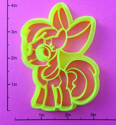 My Little Pony Apple Bloom Cookie Cutter by WarpZone on Etsy, $6.25