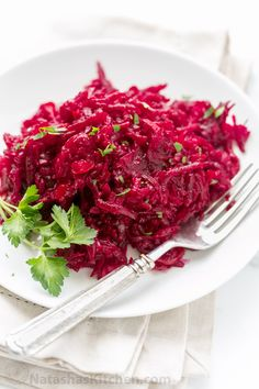 IF you love beets, and I do......This beet salad is loaded with 3 pounds of beets (super healthy) and the marinade gives it wonderful flavor!!