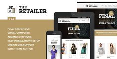 Are you looking for the Best Selling WordPress eCommerce Theme? Here we collect the largest list of best sealing WordPress themes of Themeforest. Premium eCommerce WordPress Themes for WordPress eCommerce / Store / WooCommerce Theme Themes Free, Cool Themes, Theme Forest, Theme Template, Wordpress Template, Wordpress Plugins, Website Themes, News Magazines, Premium Wordpress Themes
