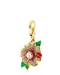 420e80b4521 Flower With Lady Bug Charm Juicy Couture Jewelry