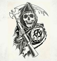 Contribute to the best show ever a future Sons of Anarchy tattoo