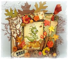 Cards made by Chantal: Autumn Happiness!