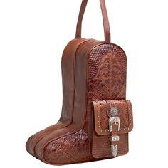 Retro Boot Bag to keep your Cowboy Boots safe! Get yours from Tim's Boots.