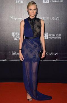 Diane Kruger in Jason Wu. Cannes Film Festival 2012.