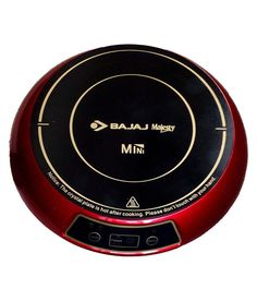 Bajaj Majesty Mini Induction Cookers can be a compact and light weight yet good induction stove for those who are into frequent travelling.Can be used equally at home for daily chores. Only two preset options (Tea and Milk) are given. But that does not affects its functionality at all. Considering the preset options and temperature level, one buy it if his induction cooking is not too much.