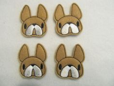felt boston terrier - Google Search