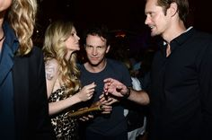 Alexander Skarsgard Photos Photos - (L-R) Actors Kristin Bauer van Straten, Stephen Moyer and Alexander Skarsgard attend Entertainment Weekly's 6th Annual Comic-Con Celebration sponsored by Just Dance 4 held at the Hard Rock Hotel San Diego on July 14, 2012 in San Diego, California. - Entertainment Weekly's 6th Annual Comic-Con Celebration Sponsored By Just Dance 4