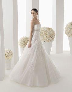 Two by Rosa Clara Wedding Dresses 2014 Bridal Collection - MODwedding