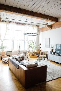 Lofty Living: 10 Inspiring Loft Tours from Our Archives / Apartment Therapy