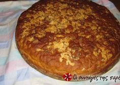 Greek Bread, Eat Greek, Cooking Cake, Bread And Pastries, Daily Bread, Greek Recipes, Fun Desserts, Donuts, Food To Make