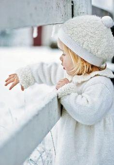 White Coat and White Hat - Little Girls Fashion