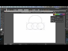 Adobe Illustrator - Combining shapes using the Pathfinder tool - YouTube