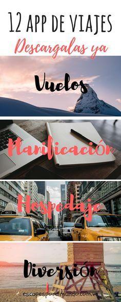 Travel tips | Travel apps | Escapes por el munso