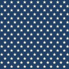 Tela 100% algodón de primera calidad diseñada por Riley Blake (USA). Preciosas estrellas blancas sobre fondo azul oscuro. Ancho 110 cm. El patrón se repite cada 2,7 cm. an. x 3,4 cm. al. La estrella mide 14 mm. de punta a punta Es ligera, ideal para patchwork, confección, decoración y otros proyectos de costura.