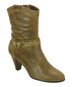 Another great find on #zulily! Taupe Suede Columbia Suede Boot by David Tate #zulilyfinds