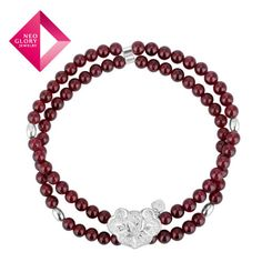 Aliexpress.com : Buy Free Shipping Neoglory Charm Nature Garnet Bangle Bracelet for Women Sterling 925 Silver Jewelry Brand New Arrive from Reliable bracelet suppliers on NEOGLORY JEWELRY
