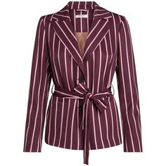 LIZZY BLAZER Pieces ❤ liked on Polyvore featuring outerwear, jackets, blazers, blazer jacket, purple jacket, purple blazers and purple blazer jacket