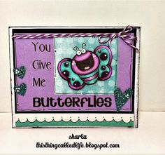 Your Next Stamp - Happy Hello Butterfly