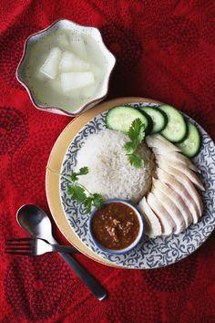 Khao Man Gai - Thai Adaptation of Hainanese Chicken Rice ข้าวมันไก่