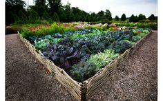 Köksträdgård på franska – Katrinetorps landeri är en av landets vackraste potager!