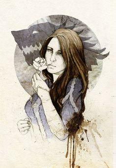 "Lyanna Stark // ""She was taken from me, Ned""."