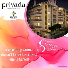 Good news for young women professionals, bank loans are now available @ 8.50%. Invest in your dream Spanish Condos @ Privada Calangute Goa with imported furniture, swimming pool & walking distance to the beach. Call today on 9167239292 & 7506925757