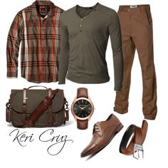 Men's Fall Fashion by keri-cruz on Polyvore featuring prAna, Mountain Khakis, Doublju, Julius Marlow, Michael Kors, Polo Ralph Lauren, men's fashion and menswear