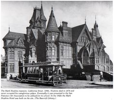1889 Victorian House Restoration: The Mark Hopkins Mansion Old Mansions, Mansions Homes, Abandoned Mansions, Abandoned Houses, Abandoned Places, Old Houses, Huge Houses, Victorian Architecture, Historical Architecture