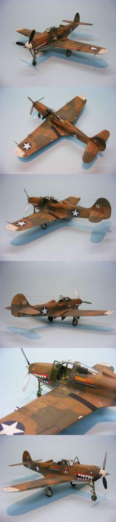 """""""Hells Bell"""" P-400, Eduard 1/48"""