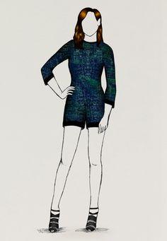 • AquaMarin by GuillaumeBergen.Com #Guibes #GuillaumeBergen #FashionSketch #Fashion #Sketch #Mode #Illustration #FashionDraw #FashionIllustration #Design #Stylisme #Emeraude #Green #Neon #Turquoise #Skirt #Dress #Graphic #Drawn #Stylism