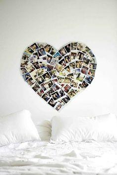 DIY photo collage @ DIY Home Ideas..baileys room!