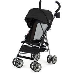 Kolcraft Cloud Umbrella Stroller, Black