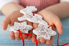 Salt Dough ornaments that the kids can decorate