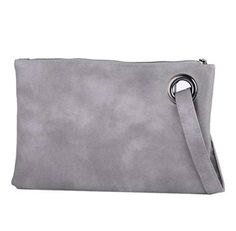 New Trending Clutch Bags: Evening and daily casual clutch bag (gray). Evening and daily casual clutch bag (gray)   Special Offer: $13.59      355 Reviews A clutch bag that big enough to hold everything you want. Let alone cell phone, wallet, keys, small cosmetics necessities, tissue, Ipad. Made of High-quality PU leather, available in 3 colors, Mint, Gray,...