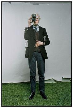 Andy Warhol, New York City, 1976 de l'artiste Annie Leibovitz
