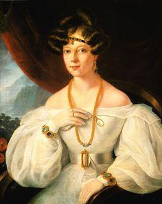 Portrait of a Woman - Miklos Barabas  1831