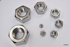 A2 STAINLESS STEEL FULL NUTS FINE PITCH THREAD M8 M10 M12 A2-70 STAINLESS STEEL