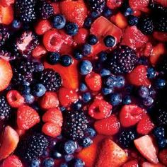 Gin and Maple Macerated Berries: In this fruit salad, sugar, lime, and gin soften and preserve berries while extracting their natural juices to become a syrupy sauce. Summer Salads With Fruit, Fresh Fruit Salad, Fruit Salad Recipes, Dessert Recipes, Fruit Salads, Fruit Dishes, Breakfast Recipes, Lime Recipes, Tailgating Recipes