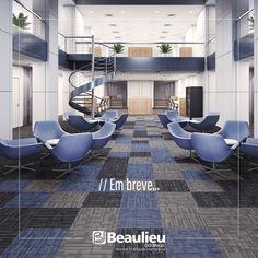 Em breve mais um lançamento da Beaulieu.      #carpet #carpete #tiles #placas #design #decor #office #beaulieudobrasil