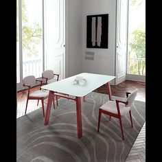 Simple clean lines define the Coconut Grove Dining Table. Strong and sturdy this table is perfect for any decor.