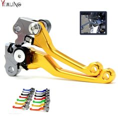 CNC Pivot Clutch Brake Levers For Suzuki DRZ400S DRZ400SM DRZ400 2000-2015 DR250R 1996-00 DRZ DR MX Enduro Supermotard Dirt Bike