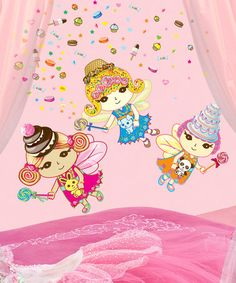 Look what I found on #zulily! WallCandy Arts Sweet Dream Fairy Wall Decal Set #zulilyfinds