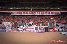 The Spirit from Office to Support Persija