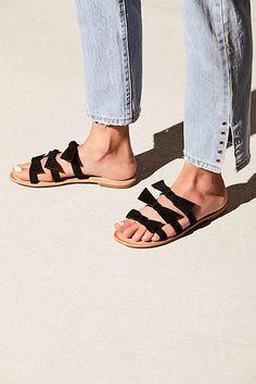 Jeffrey Campbell Sahara Slip On Sandal Cute Sandals, Flat Sandals, Flats,  Flat Wedges e161a8a9a4ae