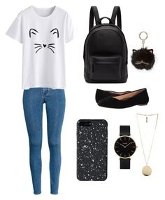 """""""#Casual 3"""" by chavelles on Polyvore featuring H&M, PB 0110, Walking Cradles, CLUSE, Givenchy and Kate Spade"""