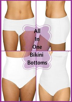 These all in one bikini bottoms is revolutionizing the way that people see and use swimwear! The days of buying multiple swimsuit bottoms are in the past, with these bikini bottoms you can effortlessly transform into any swimsuit style you desire! Available at Sunnyside Swimwear!